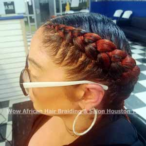 Feed-In Cornrows Houston TX