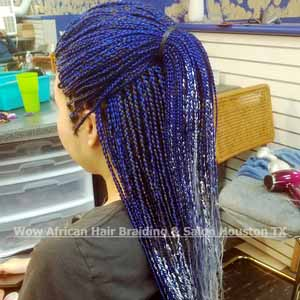 Box Braids Ponytail Houston TX
