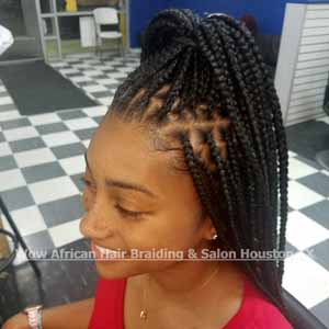 Knotless Box Braids Houston TX