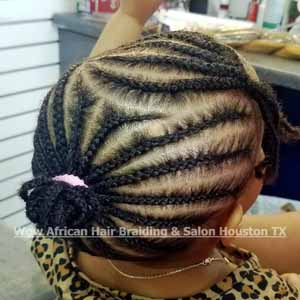 Kid's Braids Houston TX