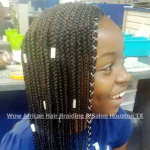 Kid's Braids Near Me Houston TX