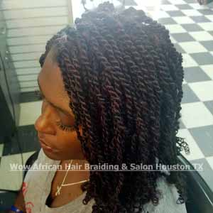 Kinky Twists Houston TX