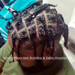 Men's Braids Houston TX