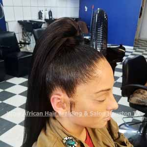 Sew-In Ponytail Houston TX