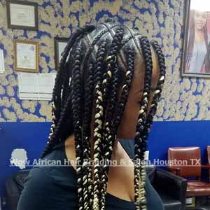 Triangle Box Braids Houston TX