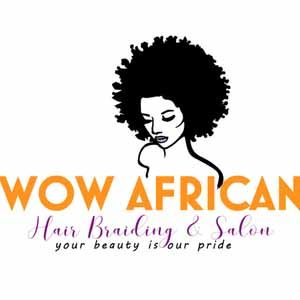 Logo - Wow African Hair Braiding & Salon Houston TX